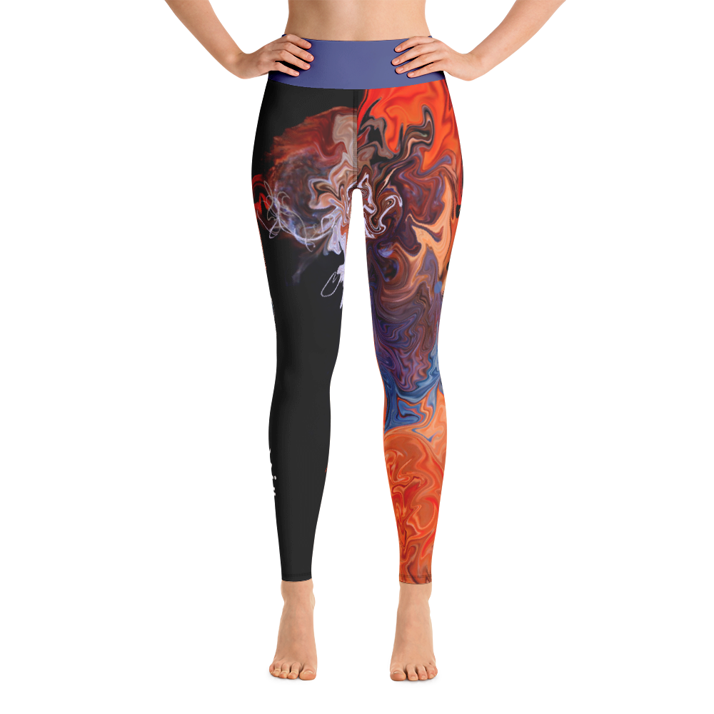 THINK Yoga Pants Ocean Collection 1