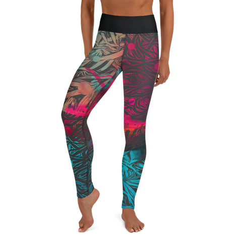 THINK Nature Series  5 Yoga Leggings
