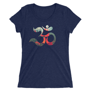 THINK Ladies' OM  short sleeve t-shirt