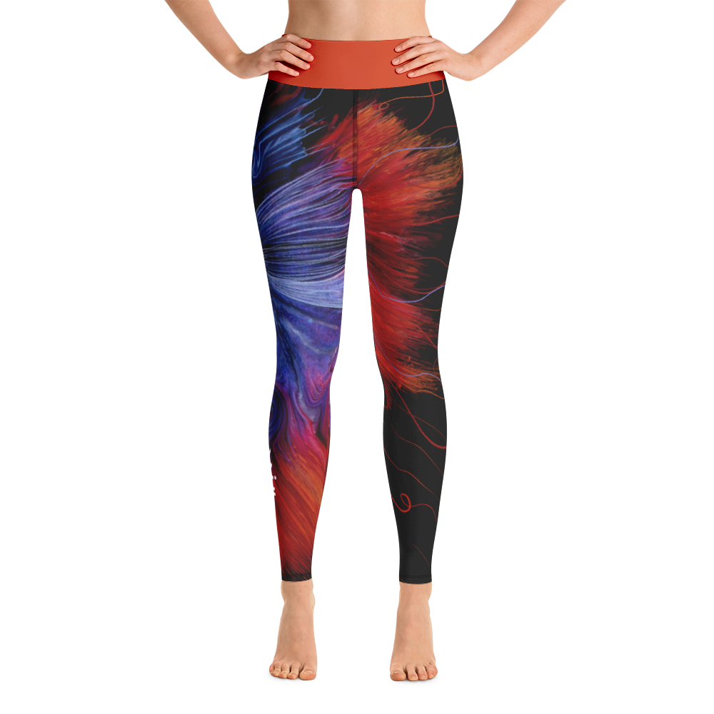 THINK Yoga Pants Ocean Collection 7