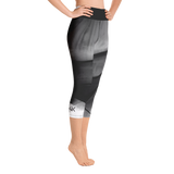 "THINK Yoga ""Capri"" Leggings B&W 1"