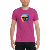 Tie Dye Skully Short sleeve t-shirt