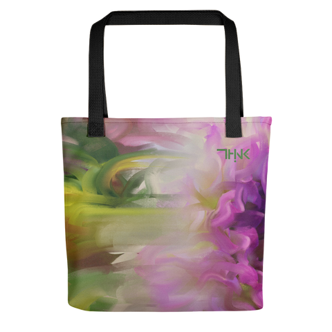 THINK Tote bag Floral Original 5