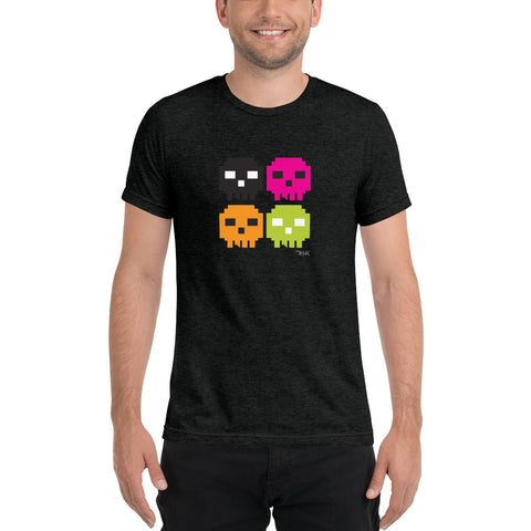 Skully 4  Unisex Short sleeve t-shirt