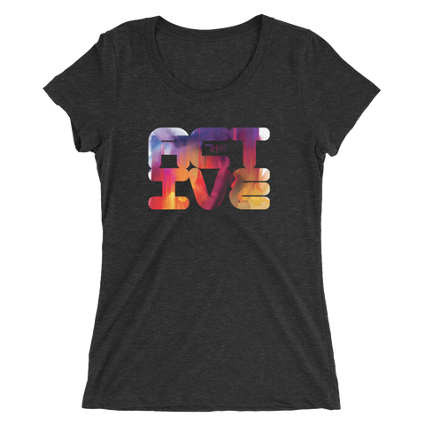 THINK Ladies' Active short sleeve t-shirt