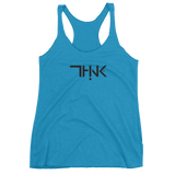 THINK Logo Women's Tank Black