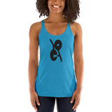 THINK YOGA 2 Racerback Tank (Black Logo)