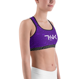 THINK Sports bra Pattern Purple