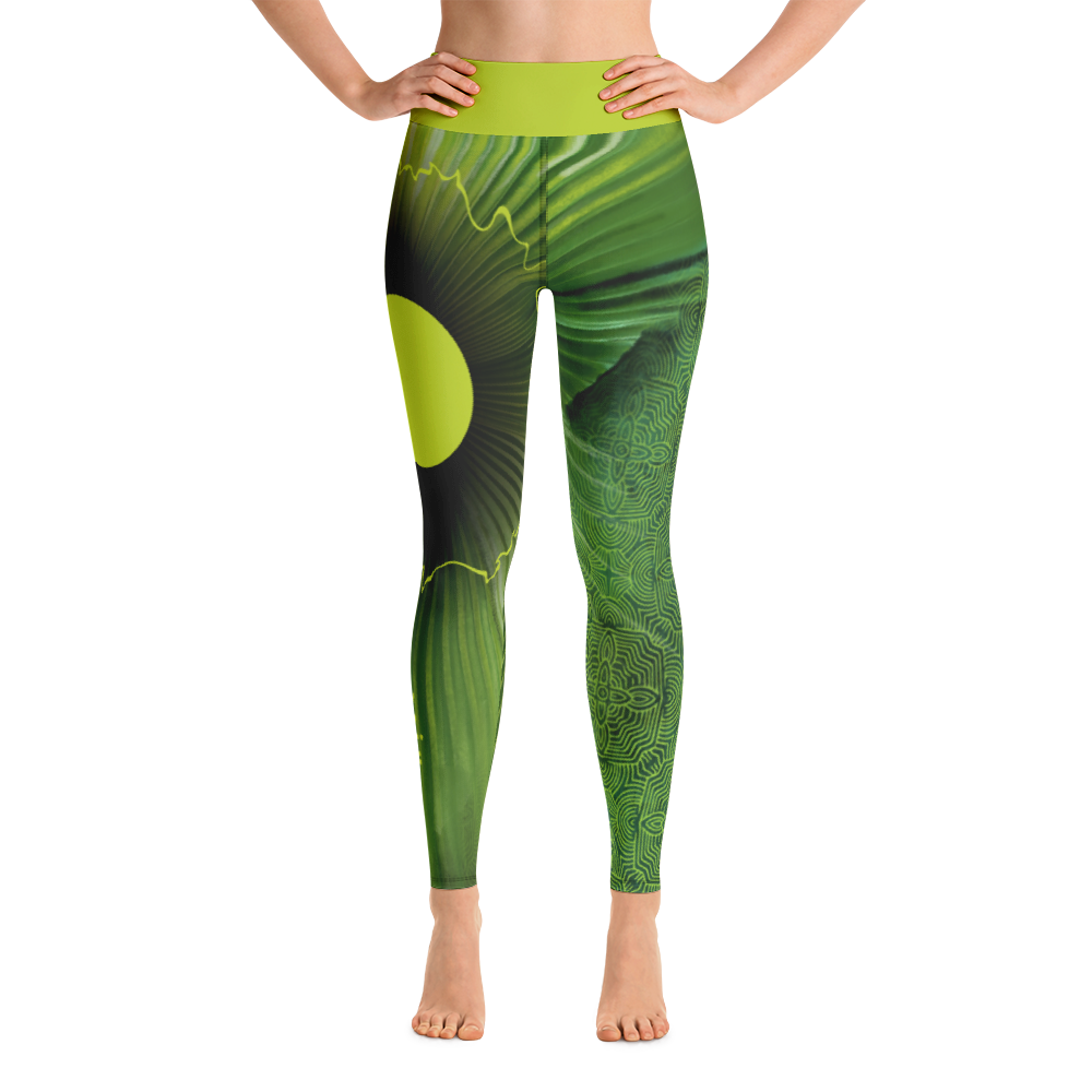 THINK Yoga Pants Flora Collection 5