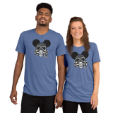 THINK Gas Mask Mouse Short sleeve t-shirt