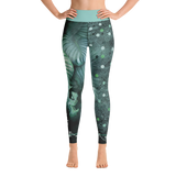 THINK Yoga Pants Flora Collection 7