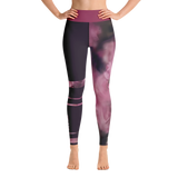 THINK Yoga Leggings Half & Half Floral 1