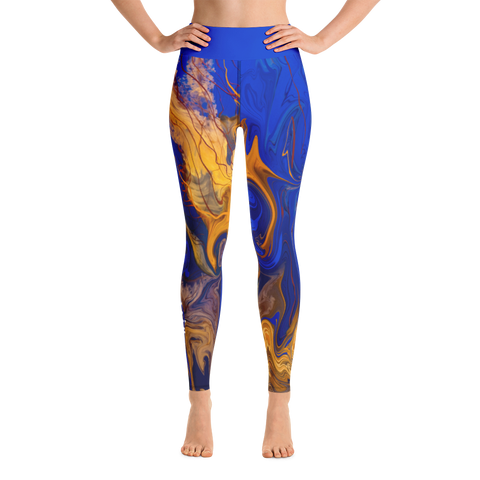 THINK Yoga Pants Ocean Collection 4