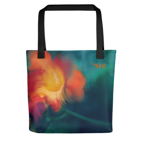 THINK Tote bag Floral Original 7