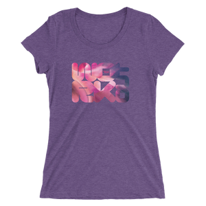 THINK Ladies' Workout short sleeve t-shirt