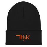 THINK Cuffed Beanie