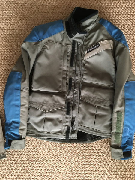 Roadcrafter 2 piece riding suit w/ armour