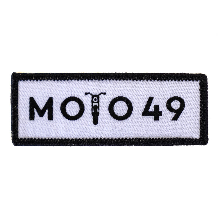Moto 49 Iron-on Patch