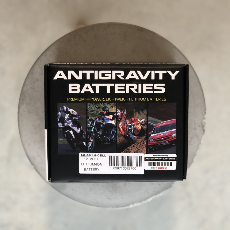 Antigravity AG-801 8 cell Lithium Battery
