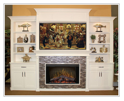 Electric Fireplaces Entertainment Center