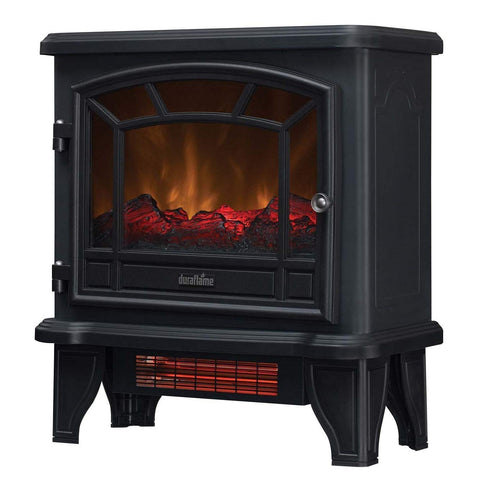 Awesome Duraflame Electric Dfi 550 36 Infrared Quartz Fireplace Stove Heater Black Home Interior And Landscaping Palasignezvosmurscom