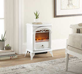 e-Flame USA Hamilton Electric Portable Fireplace Stove 22-inch