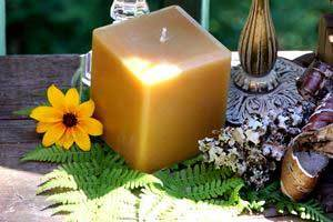 Are You Looking For Something Different in a Beeswax Pillar Candle?