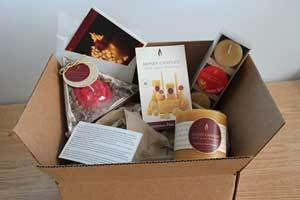 Beeswax Candles Make a Great Surprise Gift in the Mail!