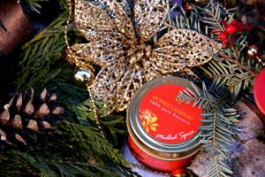 Made in Canada Gifts - Spice and Red Beeswax Candles