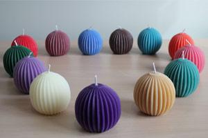 Beeswax Violet Fluted Sphere - What's been Missing?