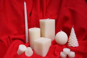 Made in Canada Gifts - Pearl Beeswax Candles