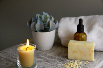 Unwind with Honey Candles