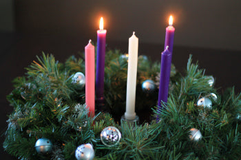 Celebrating Hanukkah and Advent with Beeswax Candles