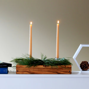 Curating a Shelfie with Pure Beeswax Candles