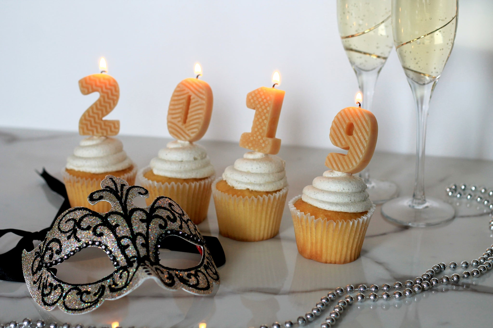 Happy New Year from Honey Candles!