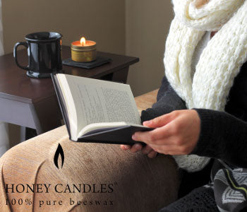 Hygge with Non-toxic Beeswax Candles