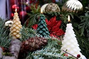 Cool Gifts for Christmas - Beeswax Candles Yule Trees