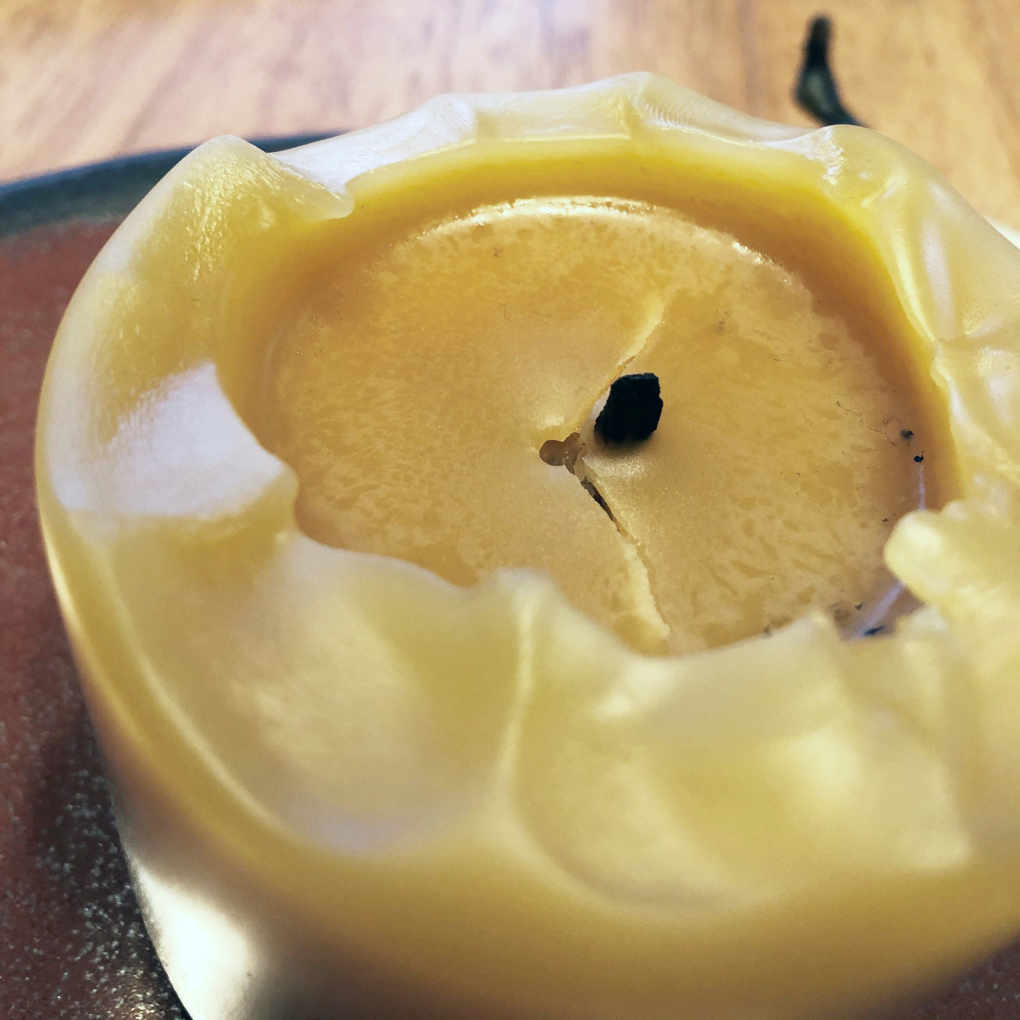 Why did my Beeswax Candle Crack? And how to correct it