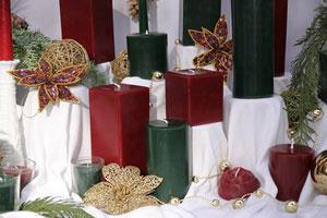 Holiday Beeswax Candles like You've Never Seen Before