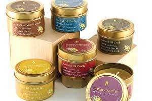 Honey Candles® Beeswax Candles Gently Infused with Pure Essential Oils