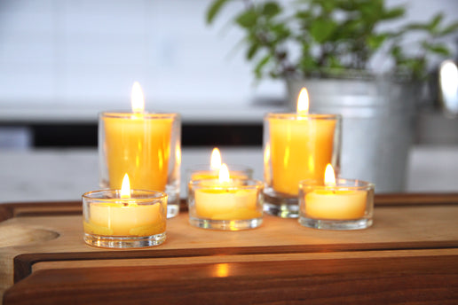Low Waste Candles – Beeswax