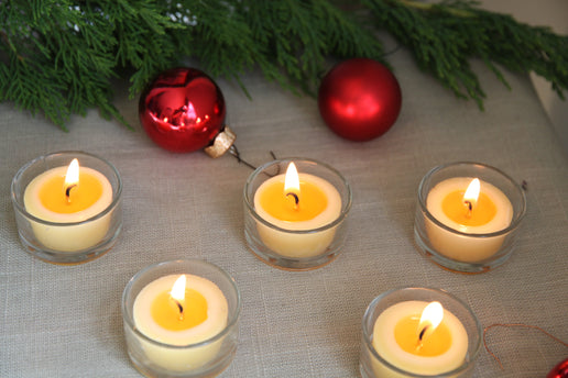 Happy Holidays from Honey Candles!