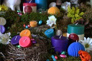 Idea Using Beeswax Candles to Brighten Your Home for Spring