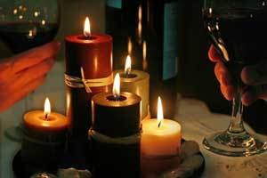 Perfect Pairing - Fine BC Wine and Canadian Beeswax Candles