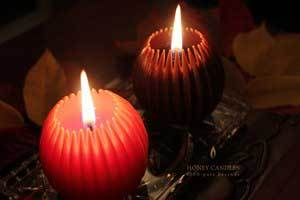 Warm Your Autumn Evenings with Beeswax Candles