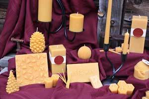 What is your Image of Beeswax Candles?