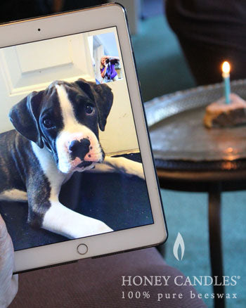 beeswax candles and technology