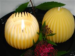 beeswax decorative candles