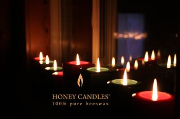 beeswax candles christmas