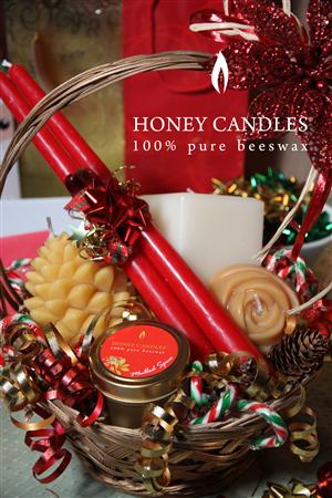 beeswax candles made in canada